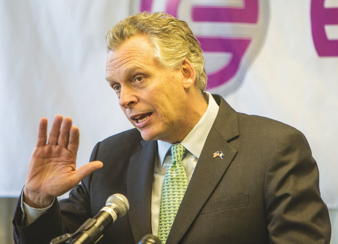 McAuliffe hones in on 'disjointed' job training   Chesterfield Observer