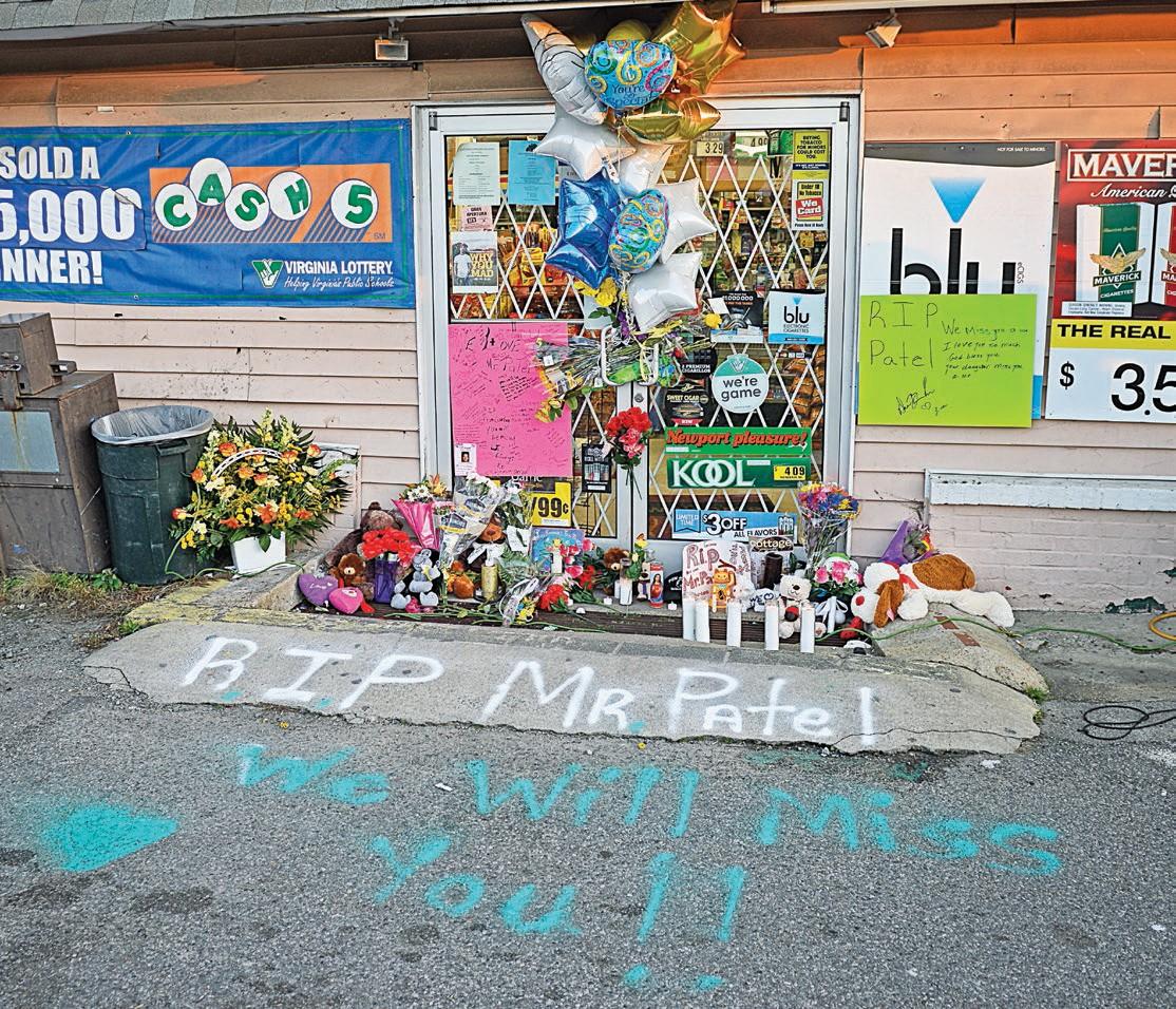 Remembering Patel: Friends, family honor fallen shop owner